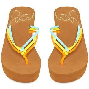 Roxy Palmilla Wedge Colorful Sandal